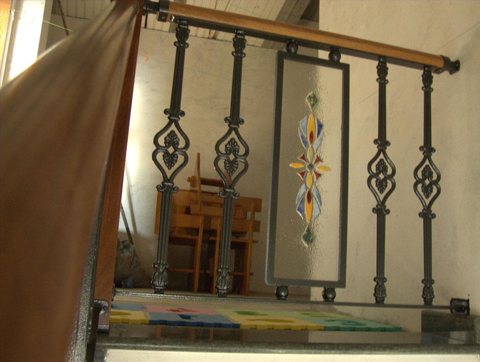 Aluminios iglesias - Barandillas de forja y madera ...
